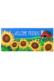 Evergreen Enterprises Country Sunflower Mat - Front cropped