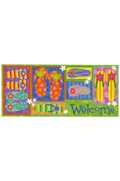 Evergreen Enterprises Flip Flop Welcome Mat - Alternate List Image