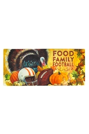 Evergreen Enterprises Football Turkey Mat - Product Mini Image