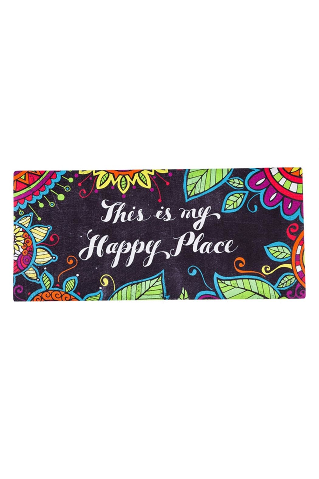 Evergreen Enterprises Happy Place Mat - Main Image