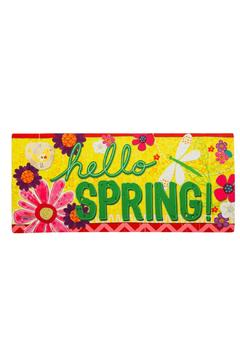 Evergreen Enterprises Hello Spring Mat - Product List Image