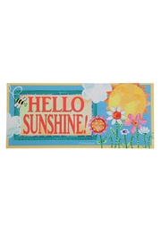 Evergreen Enterprises Hello Sunshine Mat - Front cropped