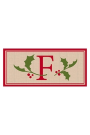 Evergreen Enterprises Monogram F Mat - Front cropped