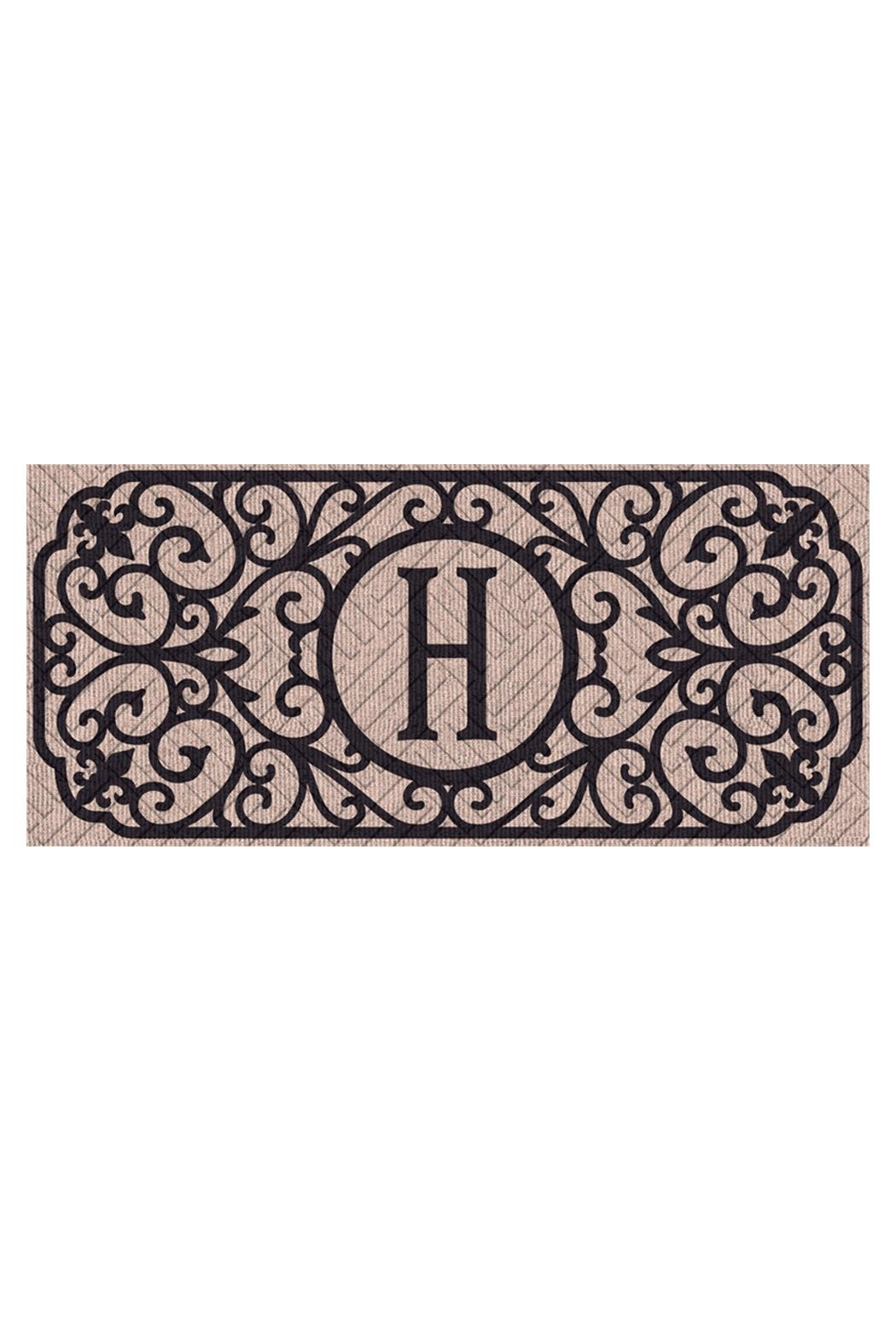 Evergreen Enterprises Monogram H Mat - Main Image