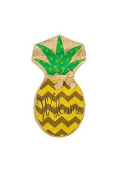 Evergreen Enterprises Pineapple Burlap Flag - Product List Image
