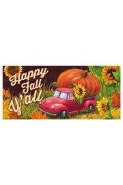 Evergreen Enterprises Pumpkin Truck Mat - Product Mini Image
