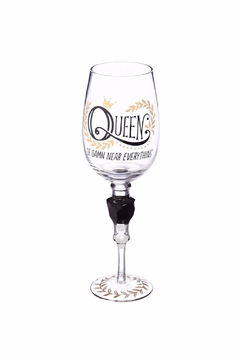 Evergreen Enterprises Queen Wine Stem Glass - Alternate List Image