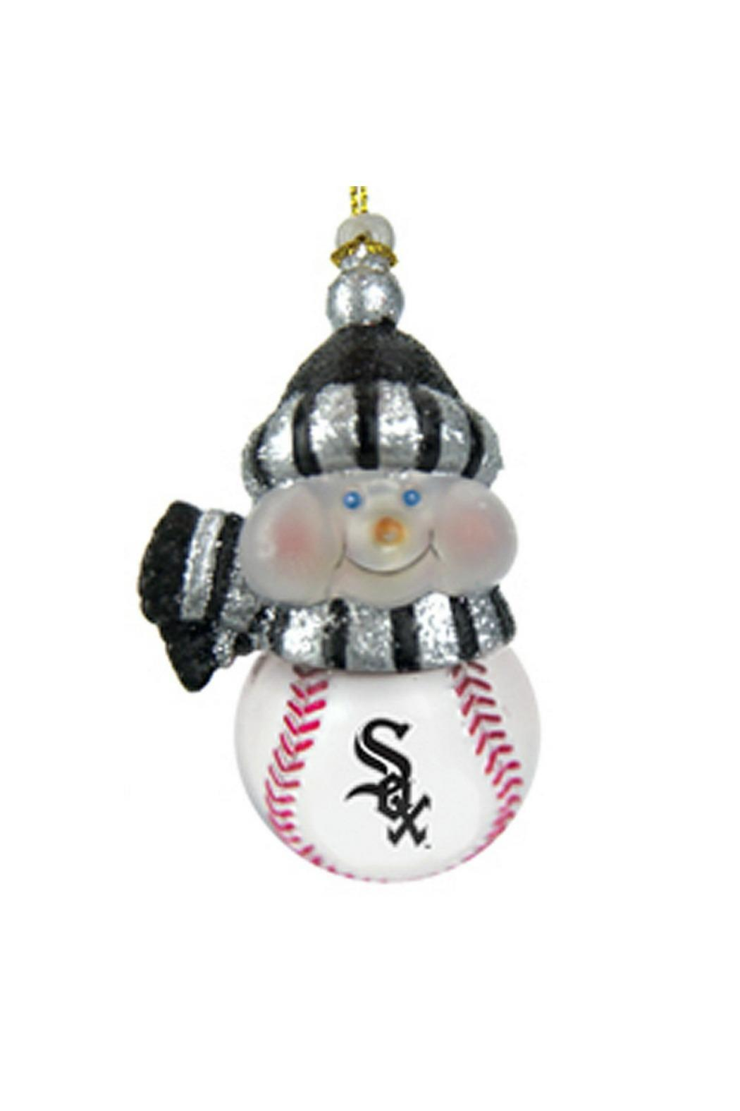 Evergreen Enterprises Sox Snowman Ornament - Main Image