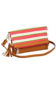 Evergreen Enterprises Striped Convertible Bag - Product Mini Image
