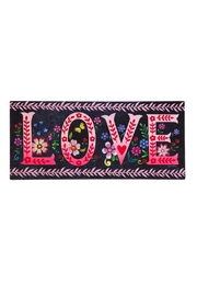 Evergreen Enterprises Wildflower Love Mat - Front cropped