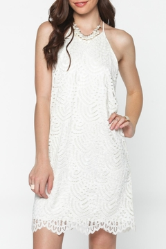 Everly White Lace Dress - Product List Image