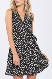 Everly Abstract Print Dress - Product Mini Image