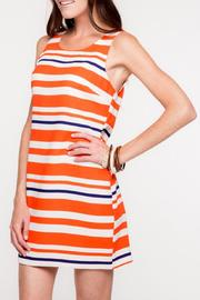 Everly Auburn Shift Dress - Front full body