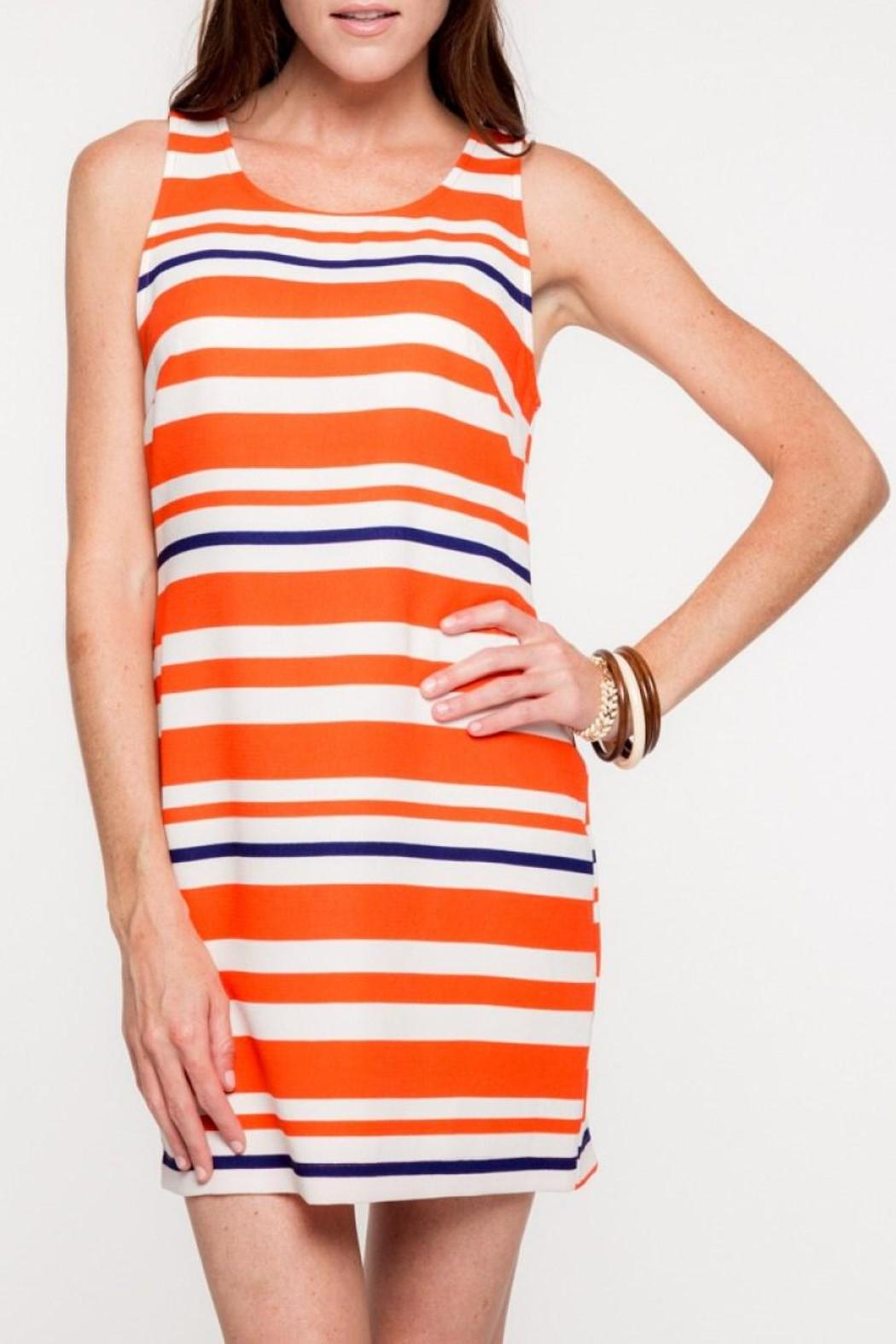 Everly Auburn Shift Dress - Main Image