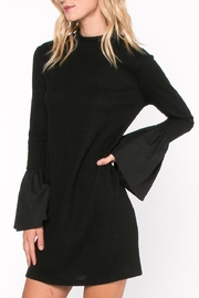Everly Bell Sleeve Dress - Front full body