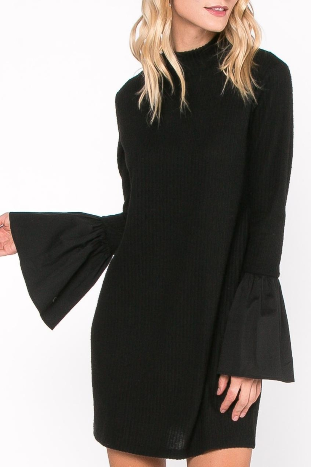 Everly Bell Sleeve Dress - Main Image