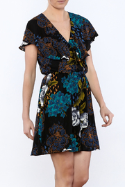 Everly Black Bloom Dress - Product Mini Image
