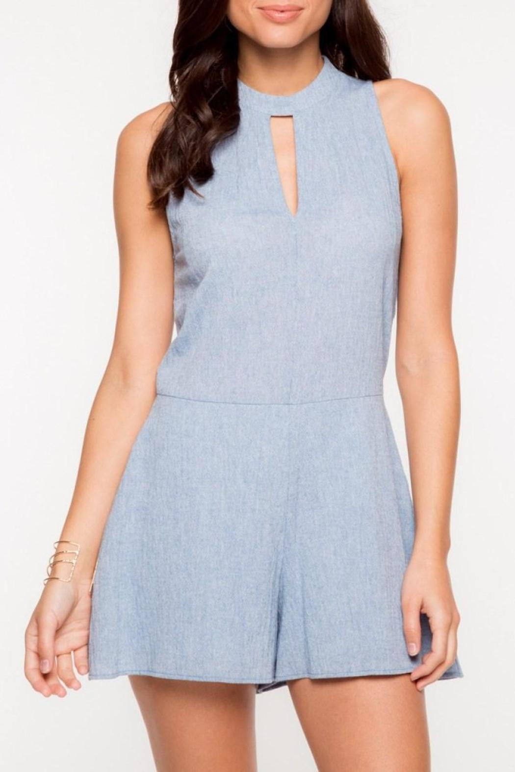 Everly Blue Kaity Romper - Main Image