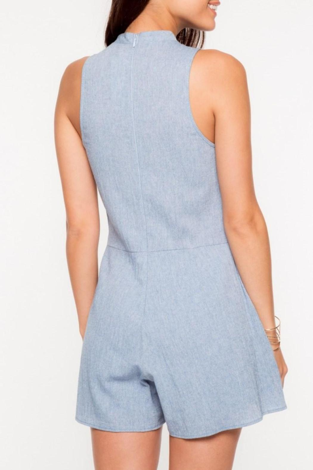 Everly Blue Kaity Romper - Front Full Image