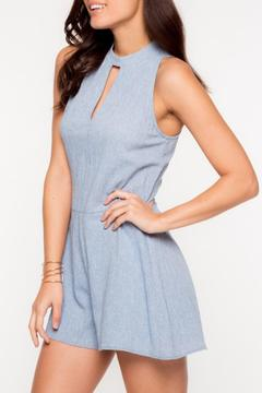 Everly Blue Kaity Romper - Alternate List Image