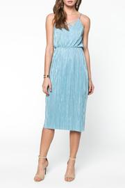 Everly Blue Pleated Midi - Product Mini Image
