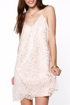 Shoptiques Product: Blush Crochet Dress