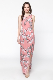 Everly Blushing Coral Maxi - Front full body