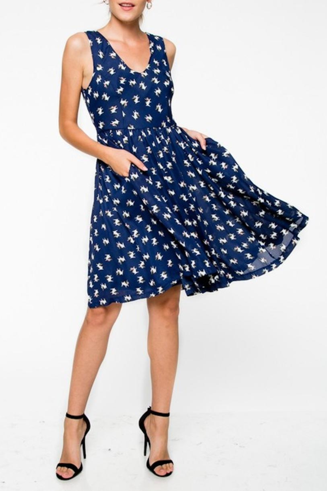 Everly Bull Dog Dress - Front Cropped Image