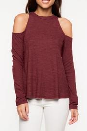 Everly Cold Shoulder Top - Side cropped