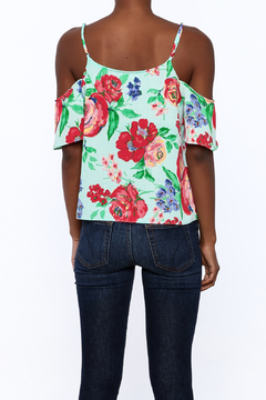 Shoptiques Product: Courtney Cold Sholder Floral Top