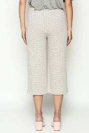 Everly Cropped Knit Pants - Back cropped