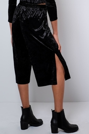 Everly Crushed Velvet Culottes - Side cropped