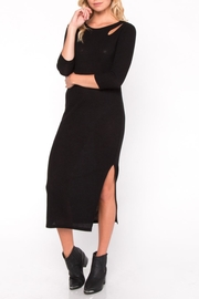 Everly Cutout Midi Dress - Front cropped