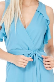 Everly Dusty Blue Lined Jumpsuit - Side cropped