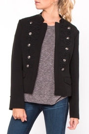 Everly Embroidered Button Jacket - Product Mini Image