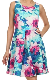 Everly Floral Dress - Front cropped