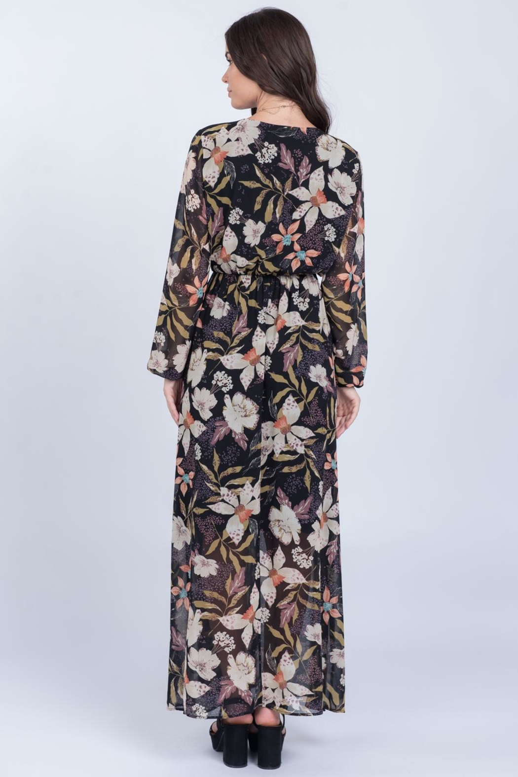 Everly Fall Floral Maxi - Side Cropped Image