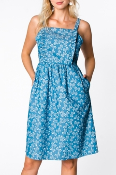 Shoptiques Product: Floral Bib Dress