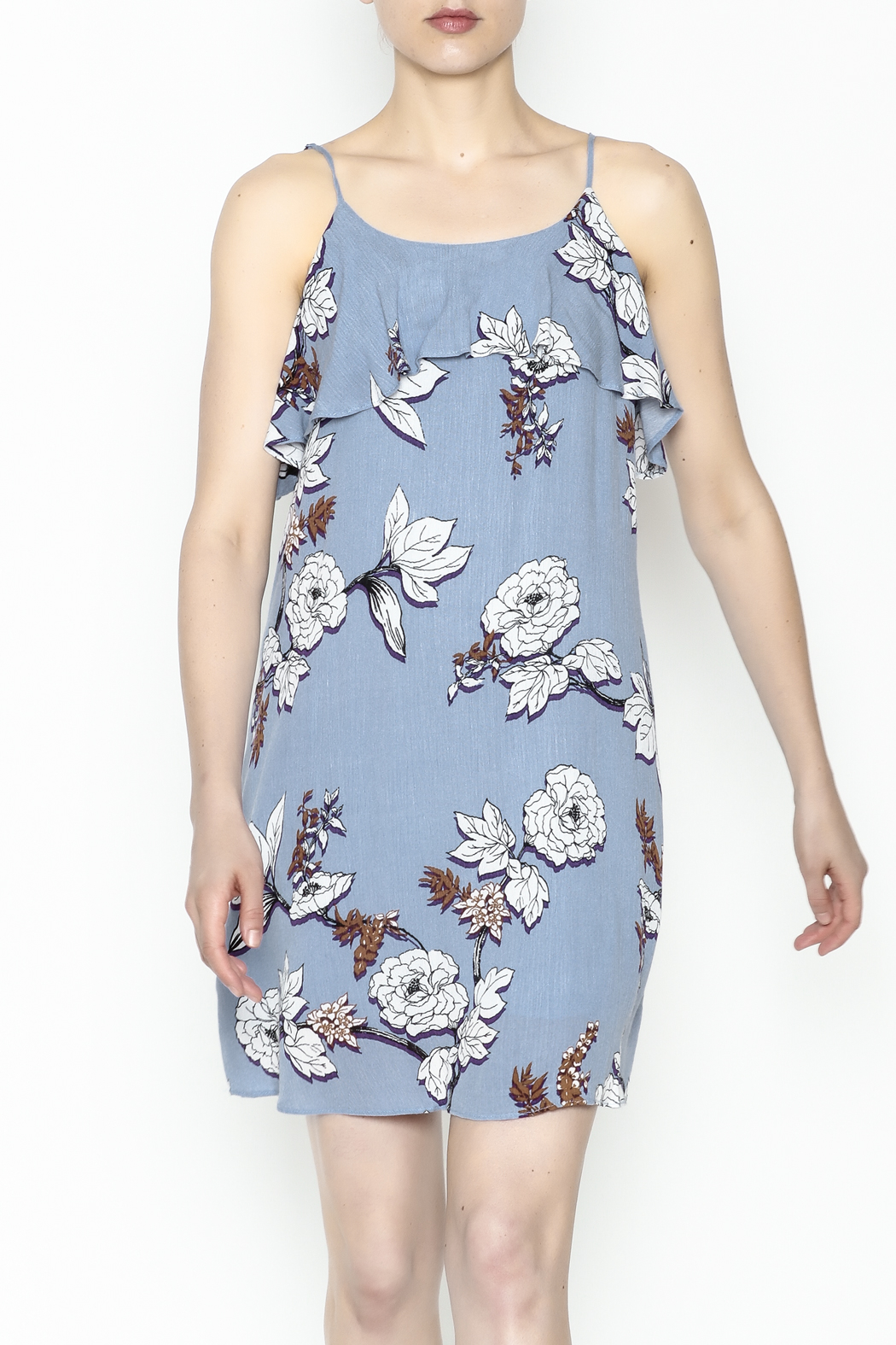 Everly Floral Cami Dress - Main Image