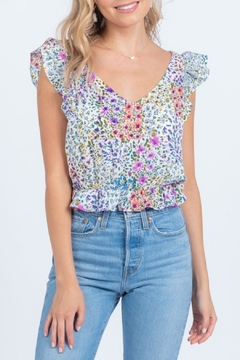 Everly Floral Crop Top - Product List Image