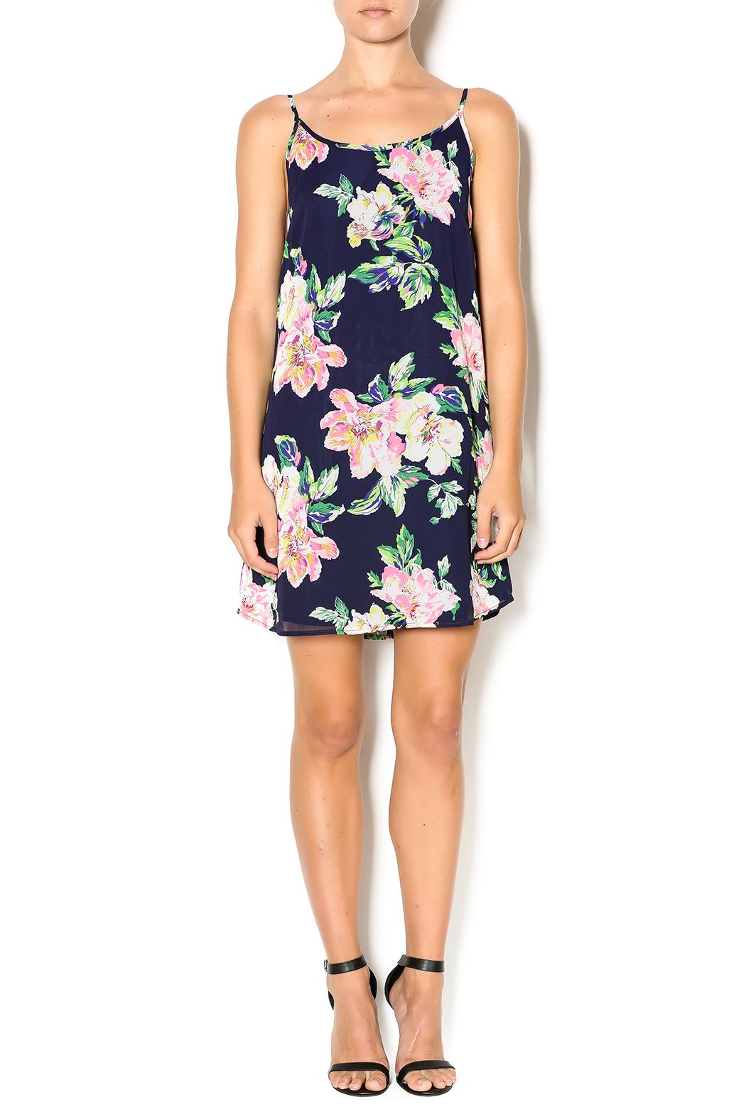 Everly Floral Dress - Front Full Image