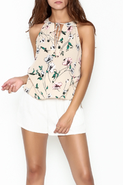Everly Floral Halter Top - Product Mini Image