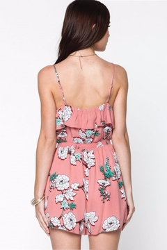 Everly Floral Ruffle Romper - Alternate List Image