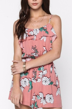 Everly Floral Ruffle Romper - Product List Image