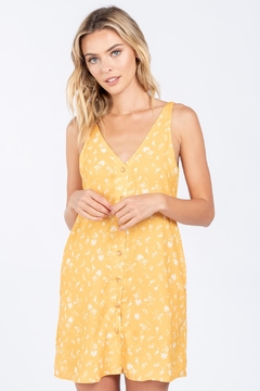 Everly Front Button Dress - Product List Image