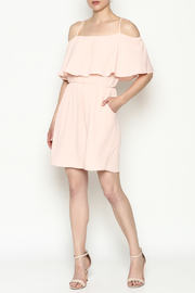 Everly Front Ruffle Dress - Side cropped