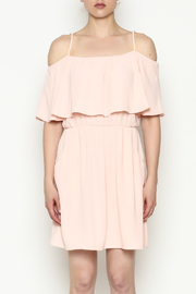 Everly Front Ruffle Dress - Front full body