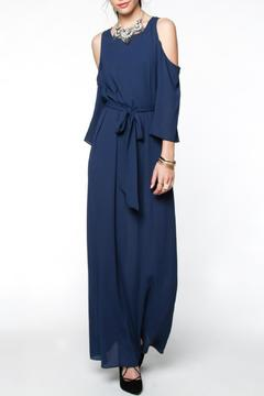 Shoptiques Product: Front Tie Maxi Dress