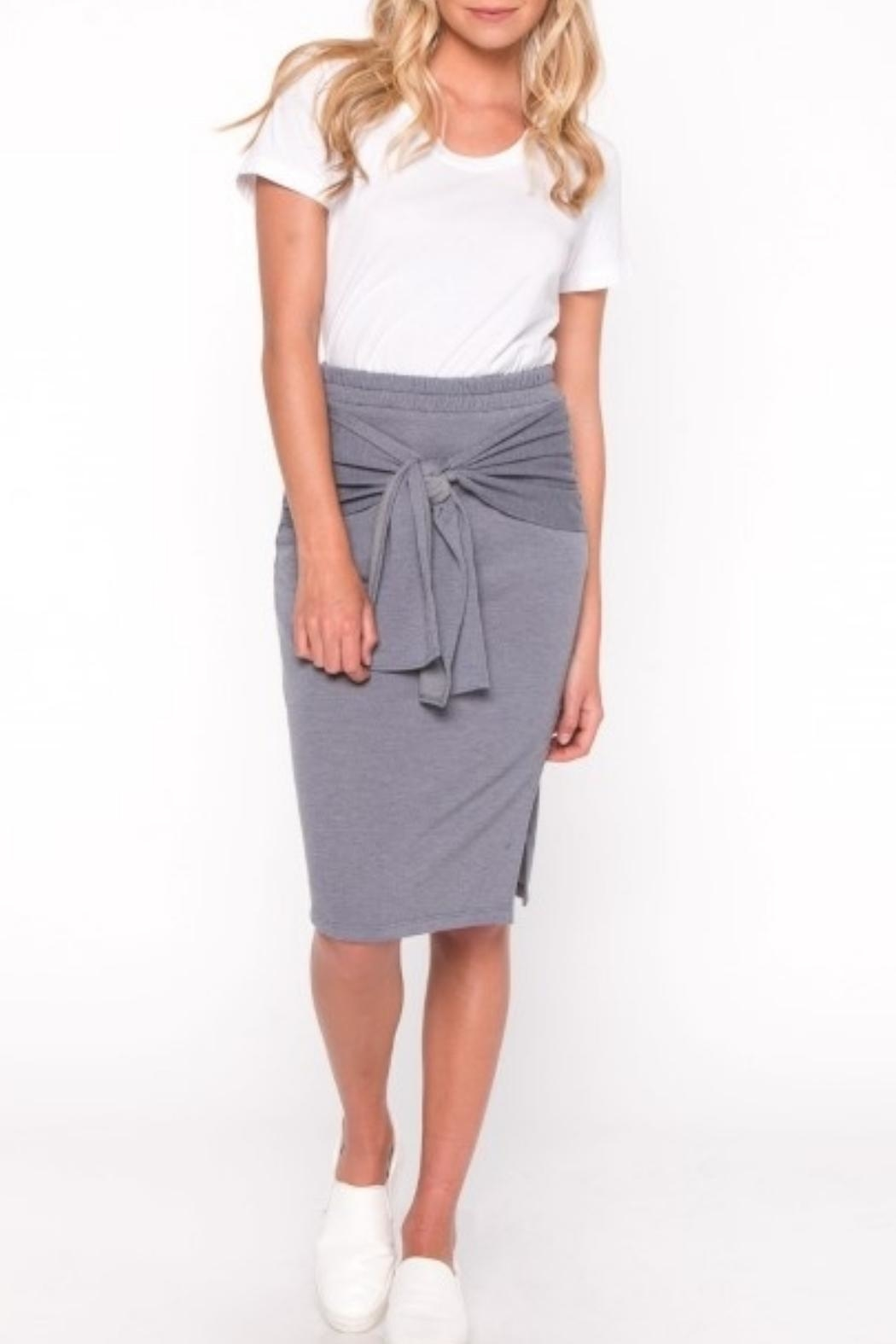 Everly Front Tie Skirt - Main Image