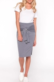 Everly Front Tie Skirt - Product Mini Image